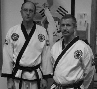 Instructors Grandmaster Andrew Johnson  and Master Lanny Kuhse